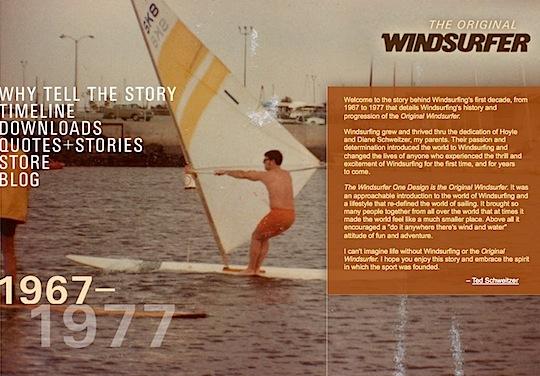 The Original Windsurfer