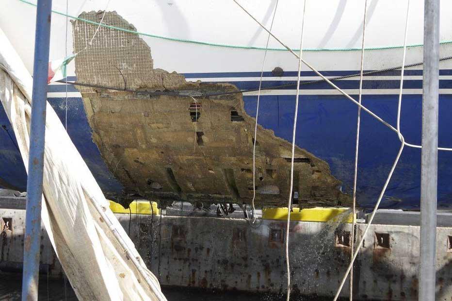 Vad hände med Oyster 825 Polina Star III?