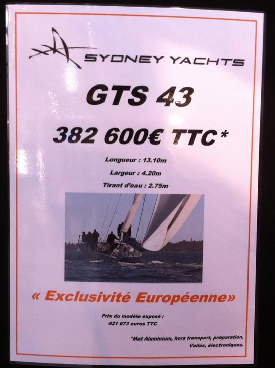 Parismässan J/122 + Sydney GTS43
