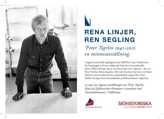 Peter Norlin | minnesutställning på Sjöhistoriska