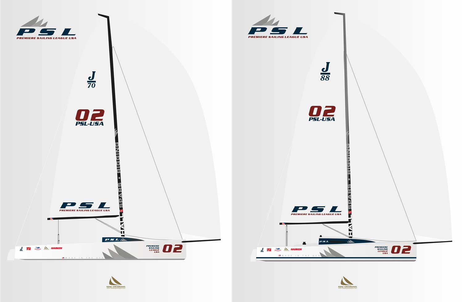 """Premiere Sailing League """"Made in the USA"""""""
