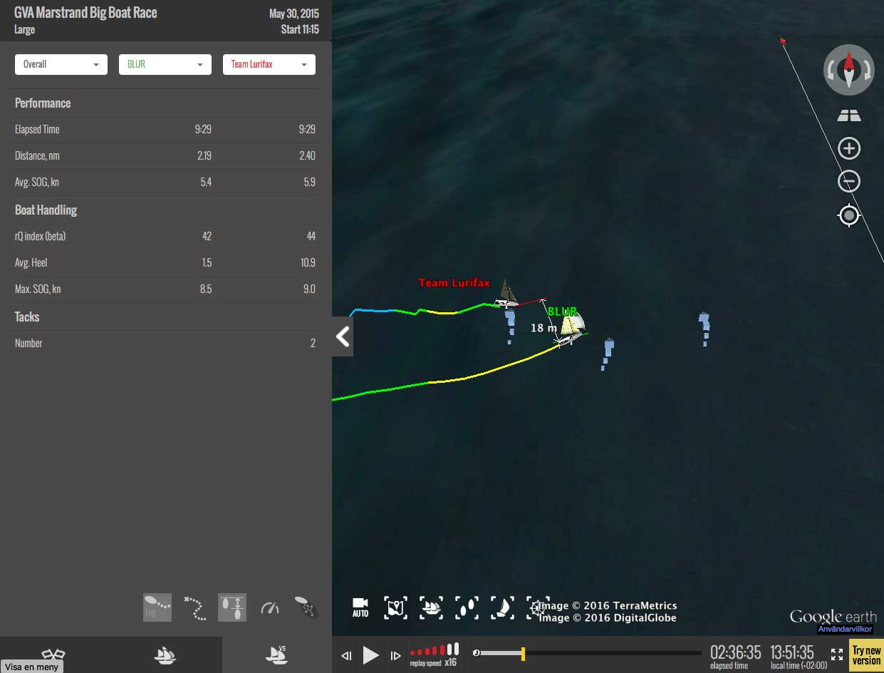 Track your race at Marstrand Big Boat