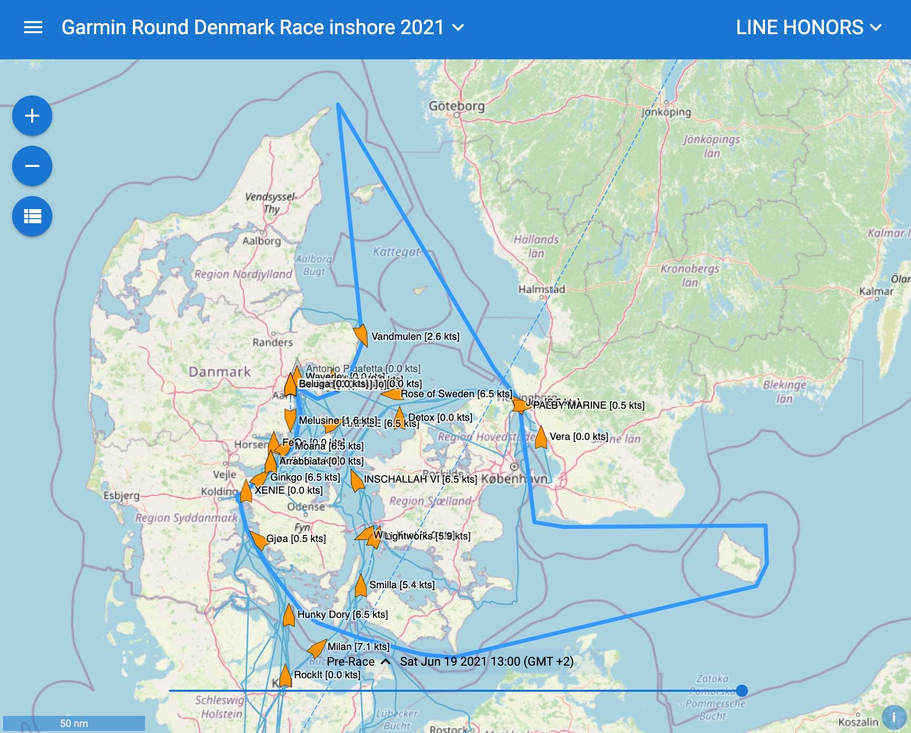 Round Denmark Race med Xusidus