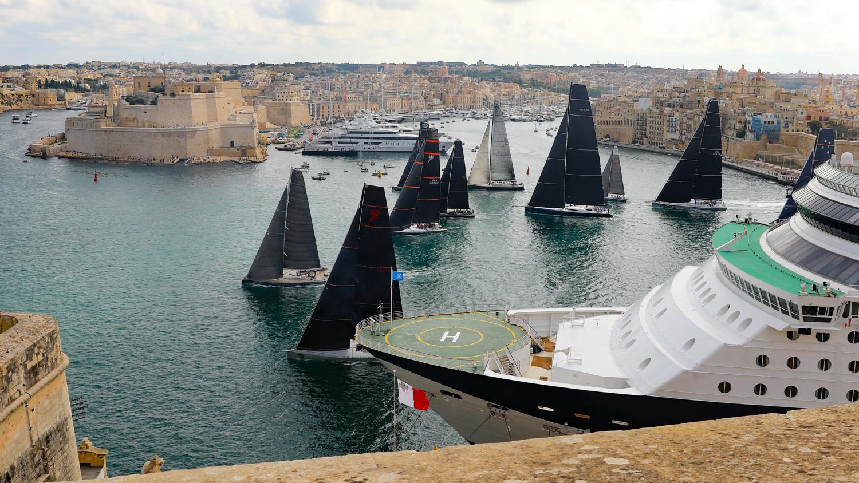 Rolex Middle Sea Race | starten