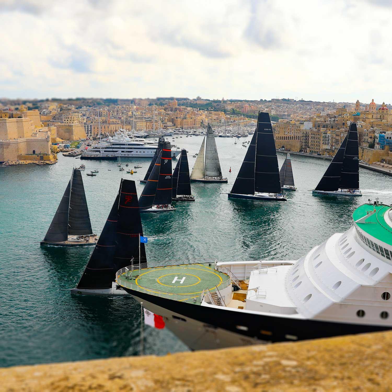 Huvudmål för 2018 = Rolex Middle Sea Race