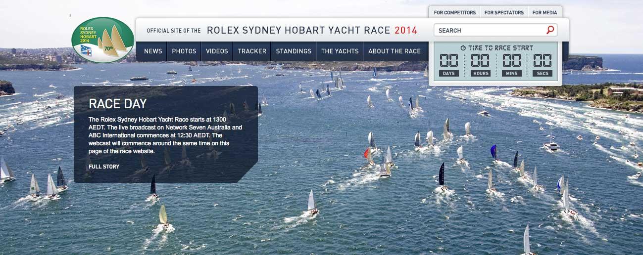 Rolex Sydney Hobart 2014