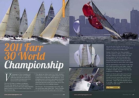 Sail Racing Magazine| december 2011