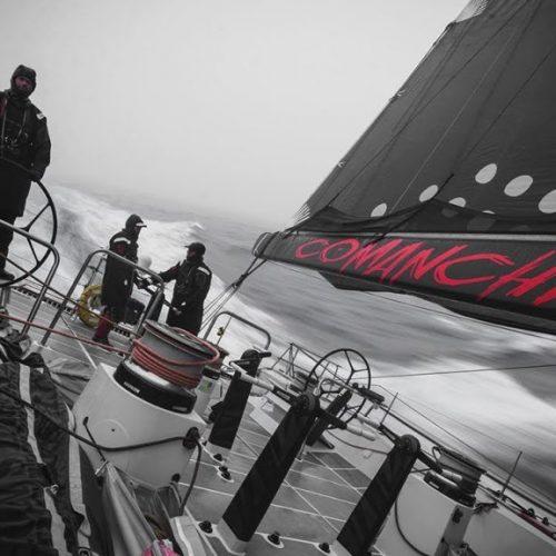 Shattering the Transatlantic Sailing Record