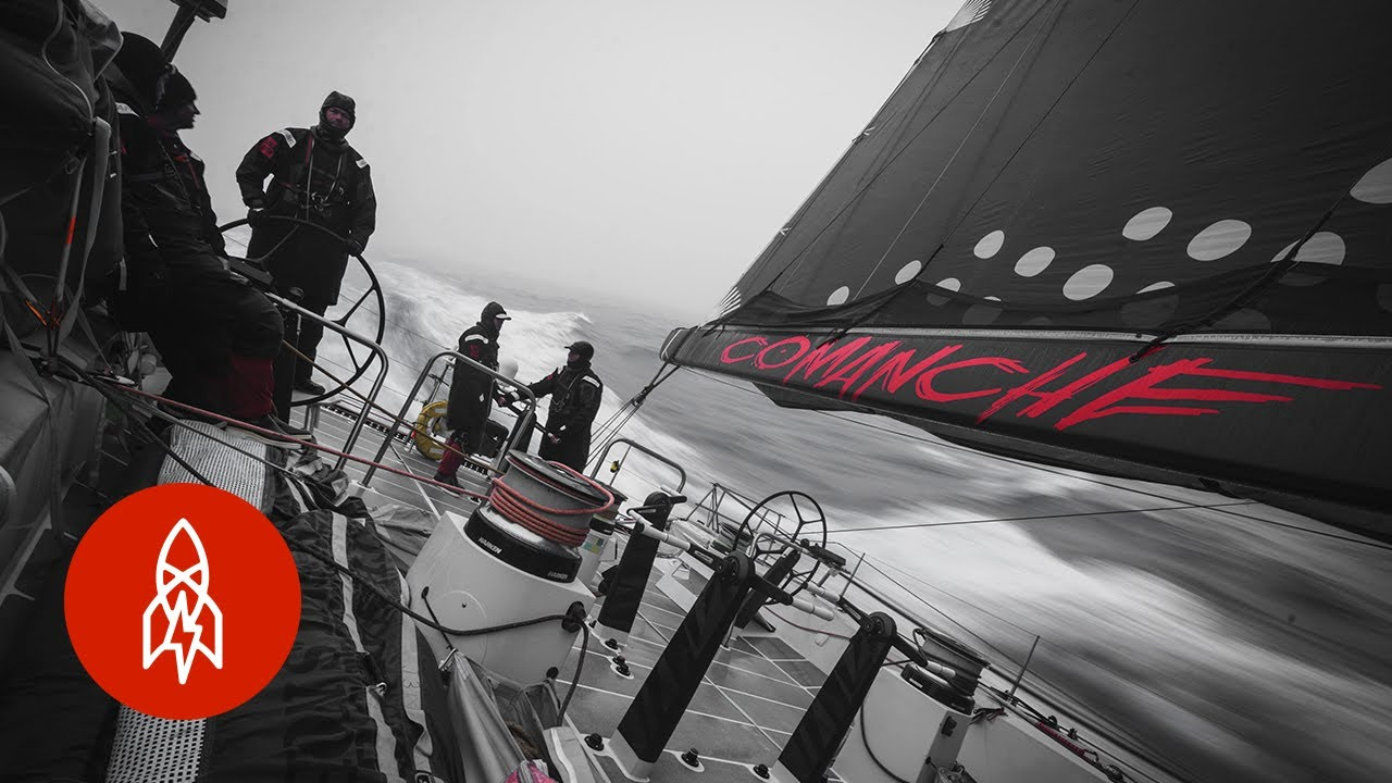 Shattering the Transatlantic Sailing Record