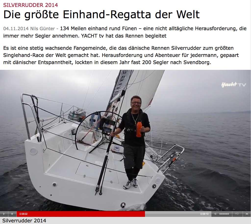 Silverrudder på Yacht TV