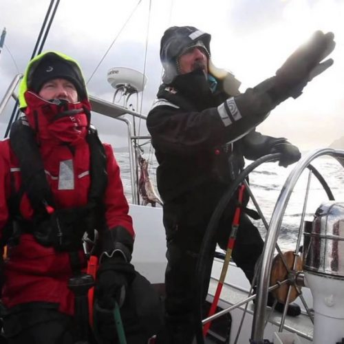 Skip Novak Storm Sailing | dreja bi