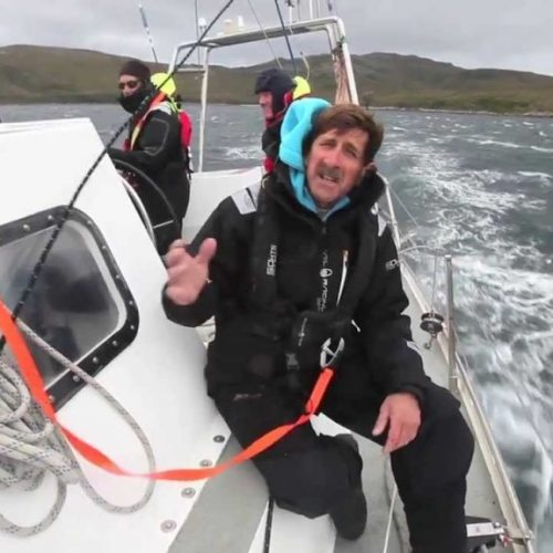 Skip Novak Storm Sailing | stormsegel