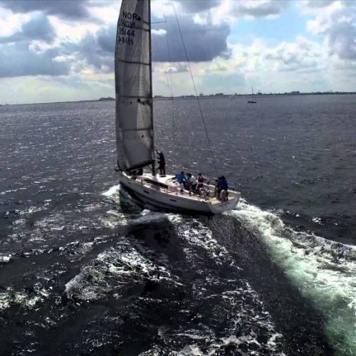 Snyggt från X-Yachts Gold Cup