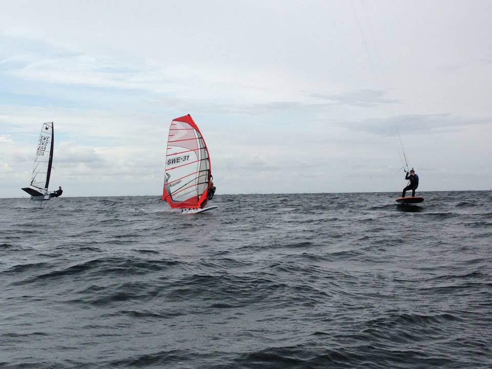 Foiling kite 25% snabbare än Moth & Formula
