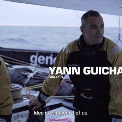Spindrift vs IDEC | matchracing bland isbergen