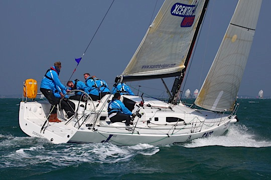 J/111 Excentric Ripper till Commodores' Cup