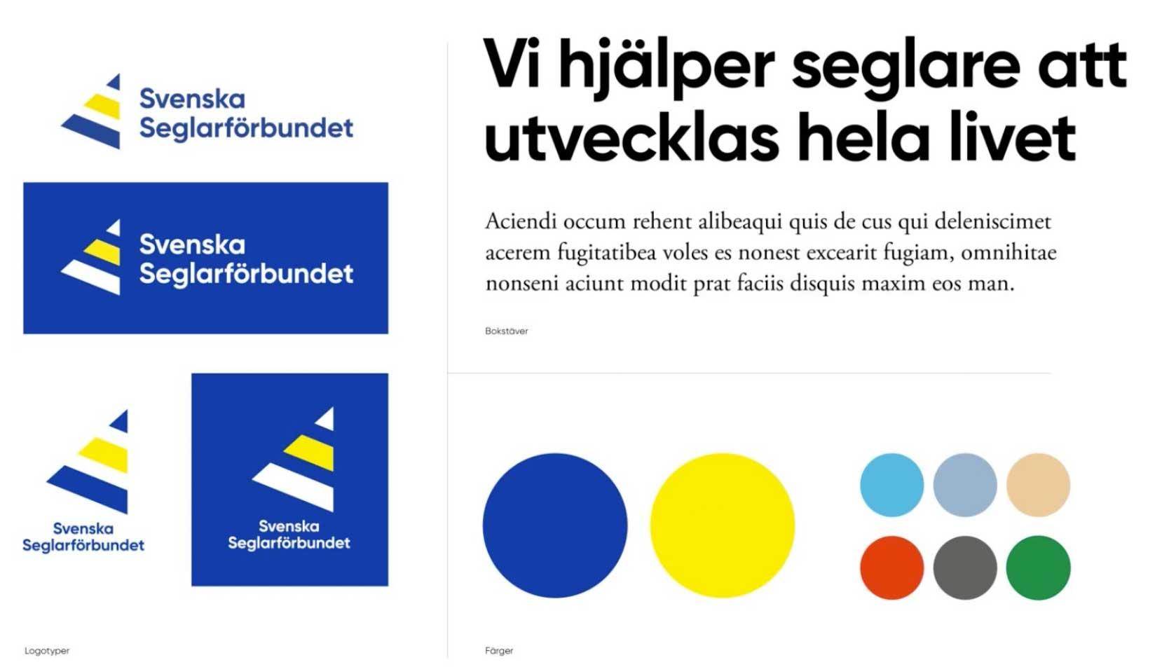 Ny profil på Svenska Seglarförbundet