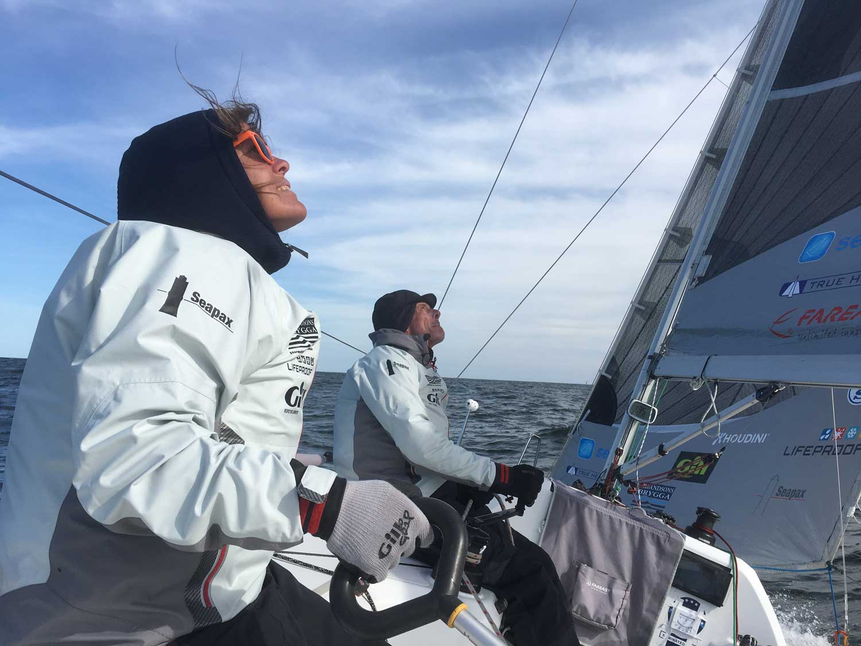 Pernilla Wiberg seglade Seapilot2Star