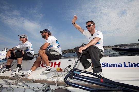 Ben Ainslie tog hem Stena Match Cup Sweden