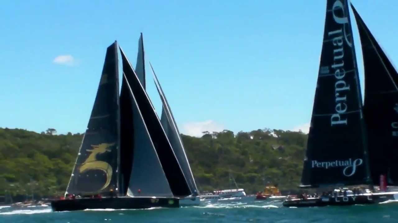 Sydney Hobart 2013 | starten