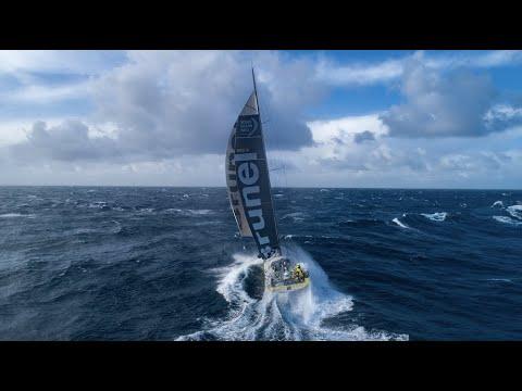 The Ocean Race   10 minuter med drönare