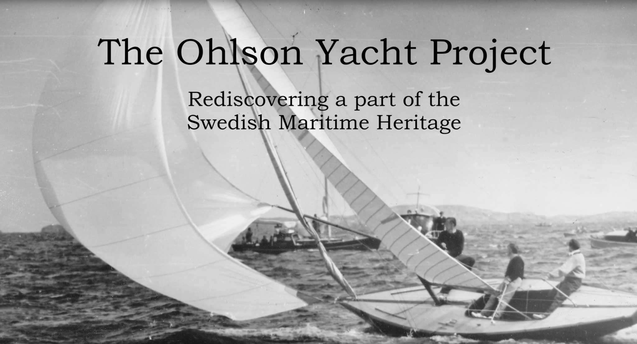 The Ohlson Yacht Project