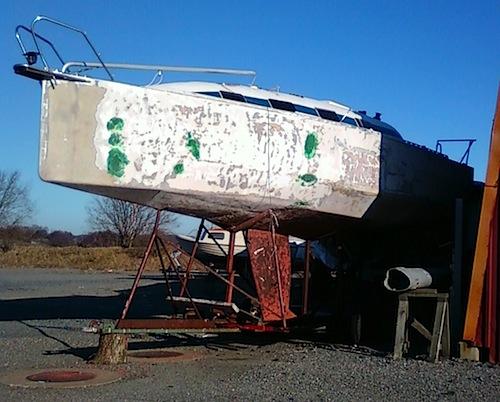 Sveriges fulaste segelbåt?