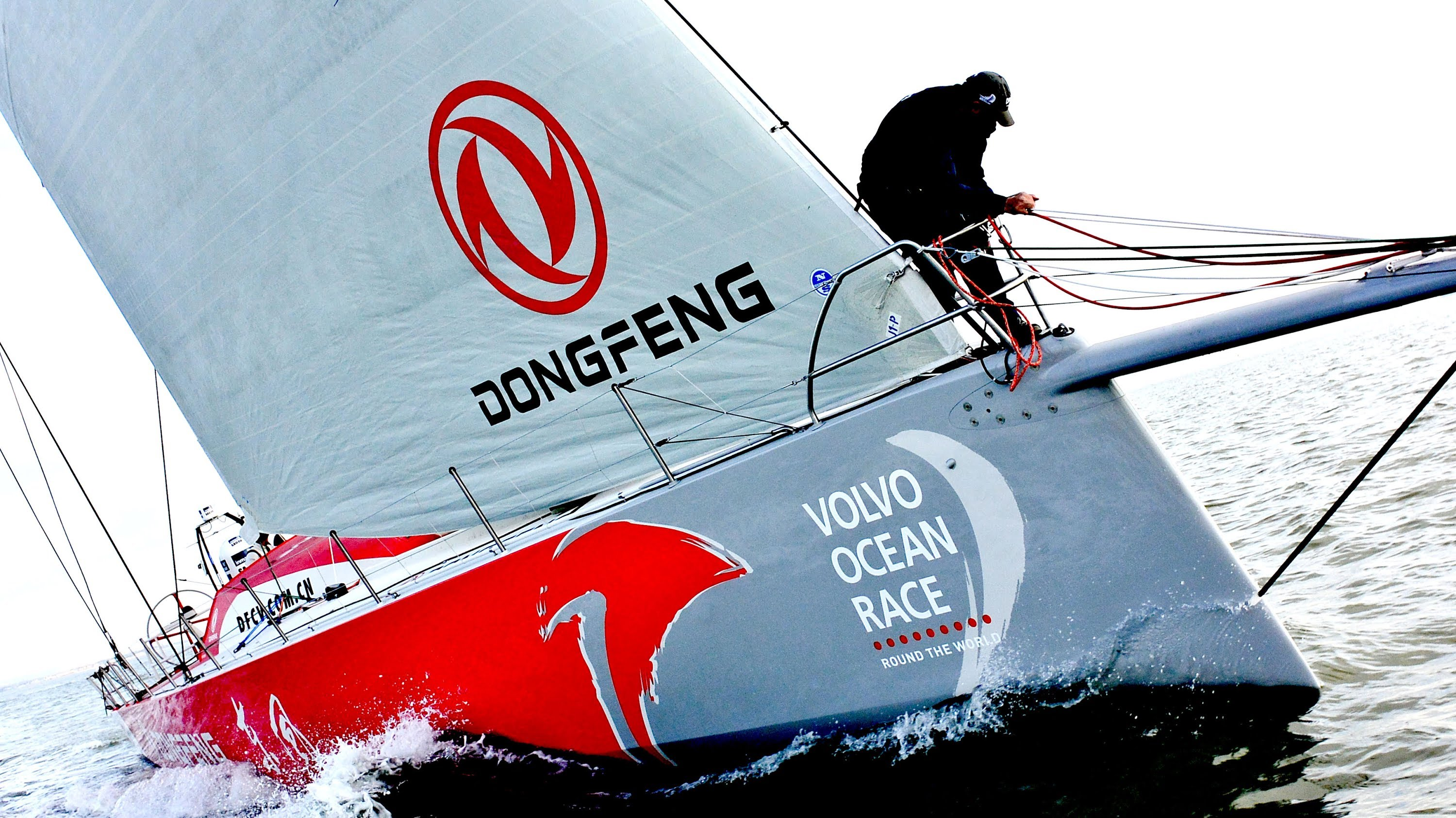 VO65 Donfeng Test Drive