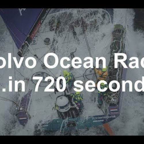 Volvo Ocean Race in 720 seconds