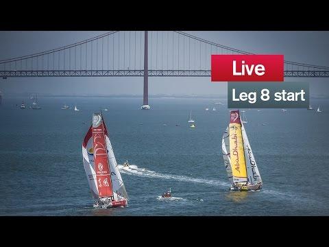 VOR start Lisbon – Lorient | live