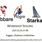 Chalmers ordnar workshop i segling