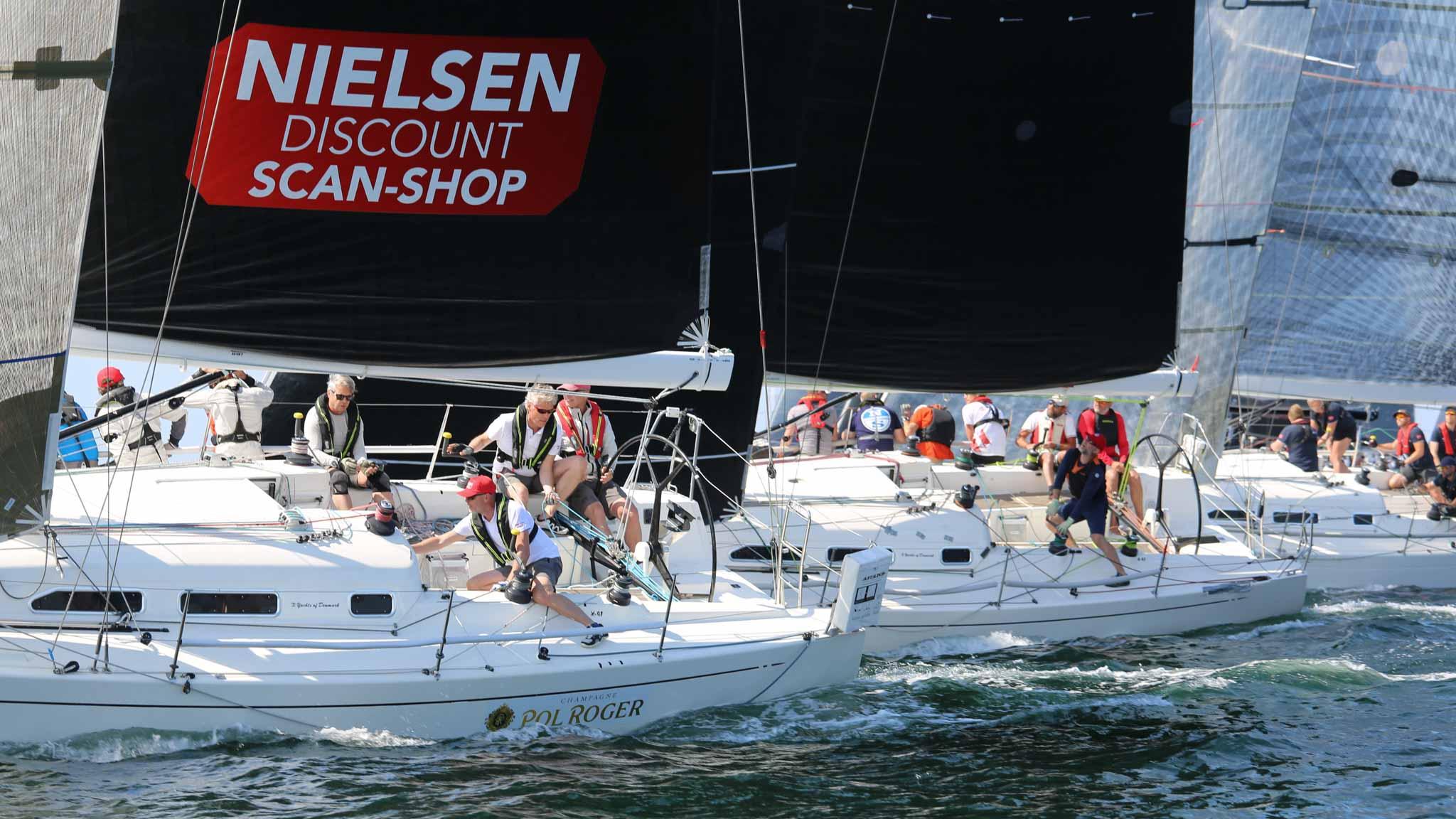 Anmälningsläget på  Marstrand Big Boat